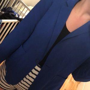 Reitmans Navy Blue Suit Jacket